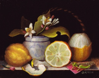 nature morte aux citrons